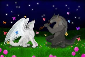 Duet of wolves by Villainess-Vi
