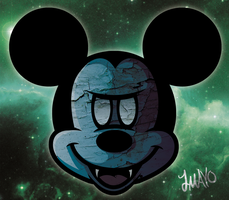 Glitch: Mickey by JosephMayo