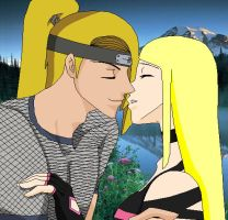 Chishio and Deidara Closer by cherryblossom4112