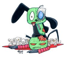 Zombie Gir fun times! by 5chmee