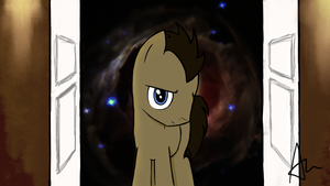 Doctor Whooves by NinjaBaby2099