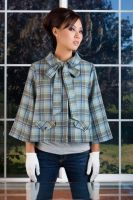Plaid Vintage Wool Jacket by MegamiMoon