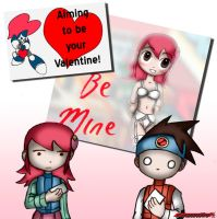 EXE Valentines by Gauntlet101010