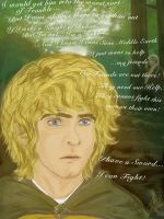 Merry Esquire of Rohan by RobbieDGrimm