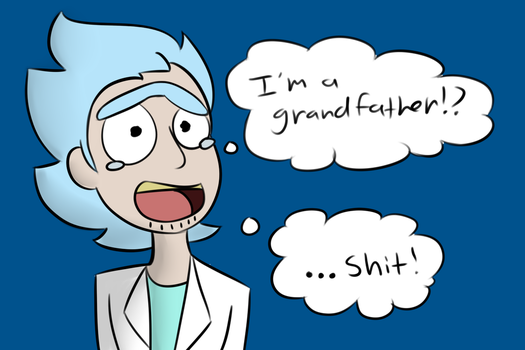 I'm a grandfather!? by Allykat44