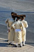 Group of orthodox jews by edayan