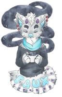 Faux Badge by cattuccino