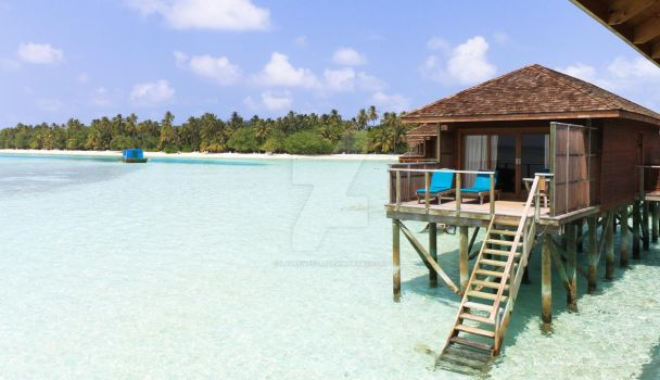 Bungalow Maldives by laurent57ls