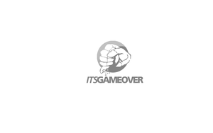 Its Game Over Logotype by fERs