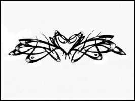 Heart tribal by javick