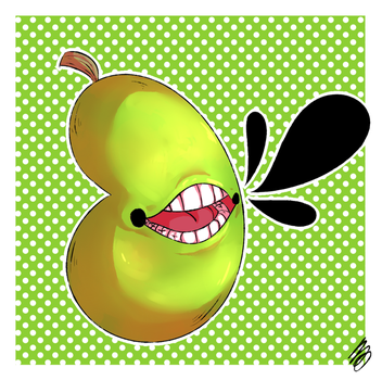 Fancy Pear by trickster-starfish