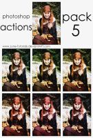 Photoshop Actions - Pack 5 by Lune-Tutorials