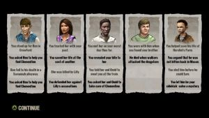 My Choices  In the walking Dead season 1 the game by awesomedragon