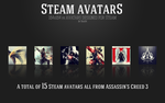 Assassin's Creed 3 Steam Avatars by TheTrixFX