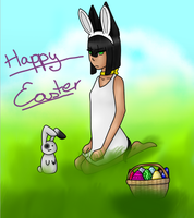 Happy Easter! by AskHumanEgyptianDog