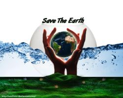 Save The Earth by amiLOnZ