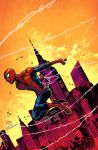 The amazing spider-man color by JoeyVazquez