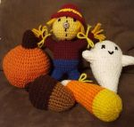Fall Crochet Items by DuctileCreations