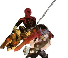 Superior Spider-Man Team Up by Enders321