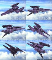 Robotech Meltrandi Ship 3d by asgard-knight