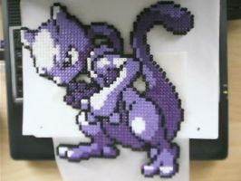 Hama Mewtwo by tony-boi