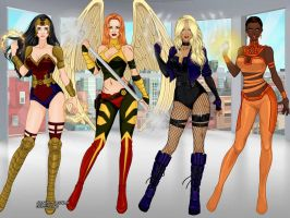 X-Girl-Candys-World-Doll-Divine Justice League by shanokoranoko