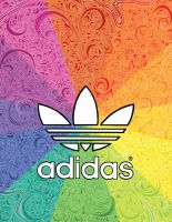 Adidas Doodle by DowntownDoodler