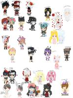 SUPERULTIMATE CHIBISCOLLAB OuO by Jhordee