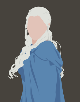 Khaleesi by Tophats-and-Teacups