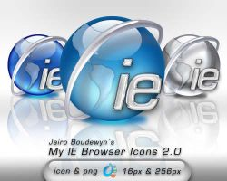 My IE Browser Icons 2 by weboso