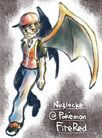 Nuzlocke @ FireRed Cover by Haychel