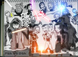 Star Wars RP battle by XxPointlessThingsxX