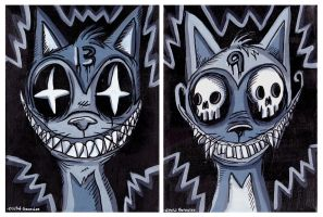 Dead Cats 9 and 13 by Comickpro