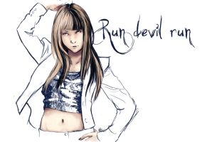 Jessica - Run devil run by AkiDead