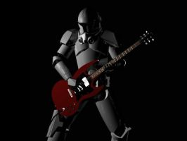 Clone Trooper Jammin' by Namelessblob