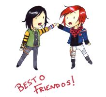 BESTO FRIENDOS. by Chawpstix