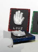 MJ fridge magnets - glove by llvllagic