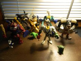 Earthworm Jim Figures by Champineography