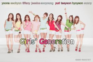 Girls' Generation by soshi-addict07