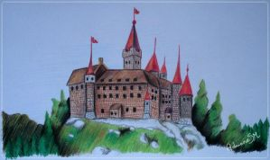 Castle by AdrianeSM
