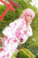 Vocaloid Yukata - Luka by Xeno-Photography