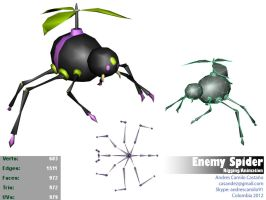 Enemy Spider by Andrescamilo1985