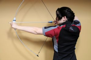 Katniss Everdeen Cosplay Test by moonflower-lights
