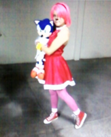 Amy Rose_cosplay by VakhTheHedgehog