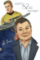 William Shatner - Happy Birthday by Kumagorochan