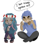 Eyebrow Connection by thatone-kid