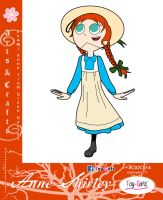Toy Girls - Arts n Crafts Series 14: Anne Shirley by mickeyelric11