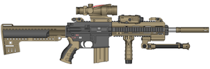 Battle Rifle by Ghost17XD