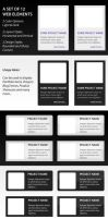 Set of Free Web Elements by rjoshicool
