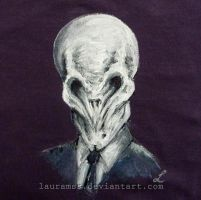The Silence t-shirt - Doctor Who by LauraMSS